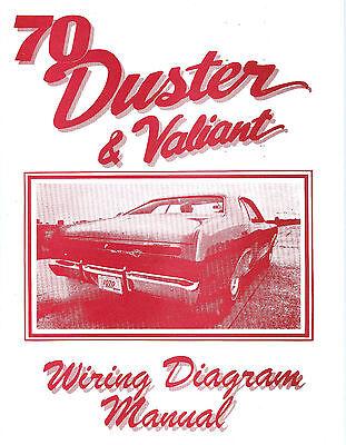 1970 70 PLYMOUTH DUSTER/VALIANT WIRING DIAGRAM | eBay