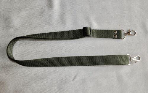 OLIVE GREEN SHOULDER NECK STRAP METAL CLIP W 20 mm FOR  CAMERA NEW *NC128**