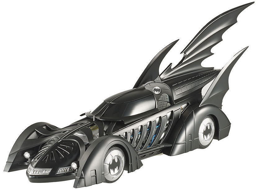 1 18 Hot Wheels Mattel Elite Cult Classic 1995 Batman Forever Batmobile Batmobile