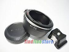 Nikon F AI Lens to Fujifilm Fuji FX X-Pro1 X-A1 X-E1 tripod mount adapter + CAP