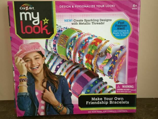 Cra Z Art My Look Friendship Bracelet Craft Kit Age 6 For Sale Online Ebay