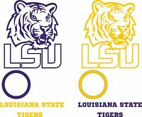 Lsu Tigers Cornhole Set Of 6 Vinyl Decal Stickers Louisiana State Bean Bag Toss