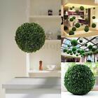 "11"" PLASTIC PLANT BALL TOPIARY TREE BOXWOOD GARDEN WEDDING PARTY DECORATION 28CM"