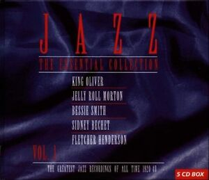 Jazz - The Essential Collection Vol. 1 (1997)  5CD Box Set  NEW  SPEEDYPOST 798747801126