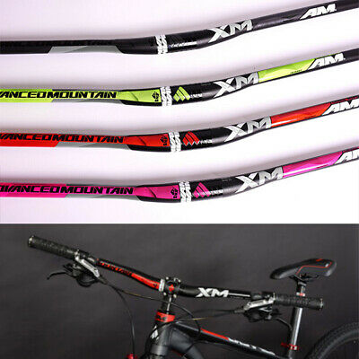 New Aluminium MTB Road Bike Bicycle XC//FR Riser Bar Handlebar 720//740//760//780mm