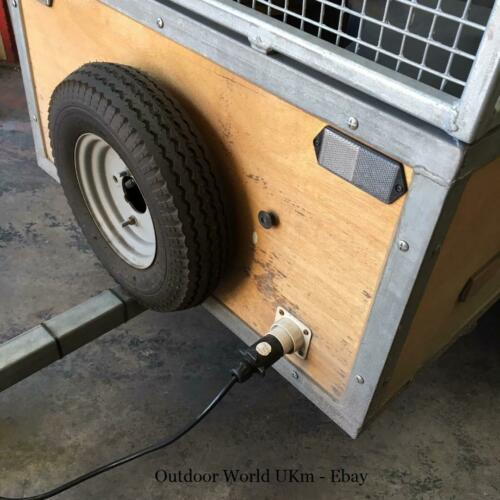 "Top Hat Trailer Spare Wheel Carrying Bracket Holder Hanger Car Camping 8/"" 10/"""