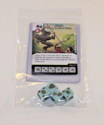 Marvel Dice Masters Guardians of the Galaxy STICK RARE Uncommon Set CUR 4 dice