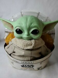 Baby-Yoda-Plush-The-Child-Mandalorian-Star-Wars-11-inch-Mattel-Official-In-Stock