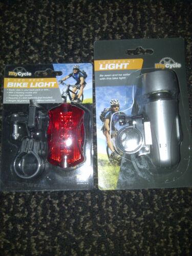 LED BIKE LIGHTS FRONT and REAR BNIB