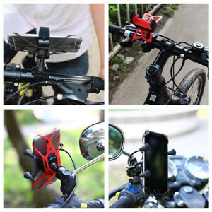 Security-Rubber-Bands-Replacement-Silicone-Straps-For-Bike-Phone-HC