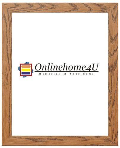 Dark Oak Color Frame With Various Colors Mounts Photo Frames Wooden Effect Frame