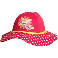 Girls Novelty In The Night Garden Upsy Daisy Floppy Sun Hat Red Yellow 1-3yrs