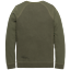 miniature 2 - PME Legend Sweat Manche Longue Encolure en R Doub PTS195554 Olive M L XL