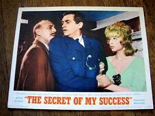 SECRET OF MY SUCCESS Orig Lobby Card LIONEL JEFFRIES STELLA STEVENS JAMES BOOTH