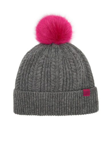 Sale Joules Bobble Hat Grey