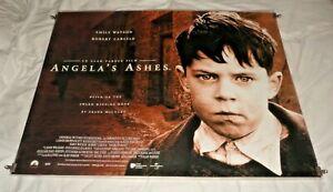 Angela's Ashes Original UK Quad Movie Cinema Poster 1999 Robert Carlyle