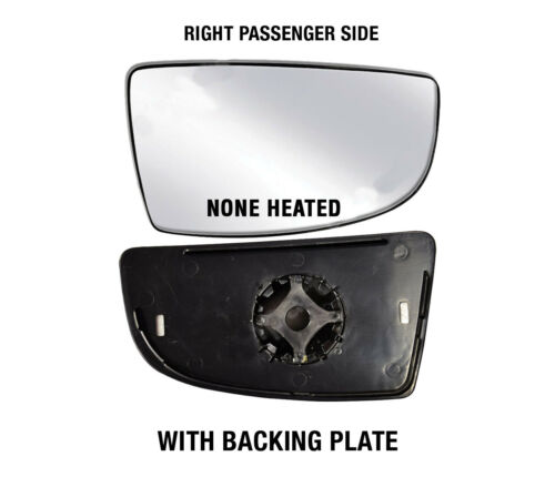 Ford Transit 250 350 Mirror Glass Small None Heated W Backing Rh Passenger 14-17