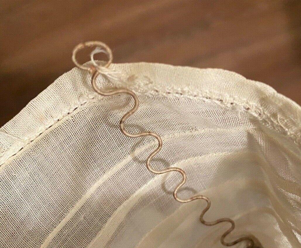 Antique Victorian Ladies  Blouse High Neck - image 5