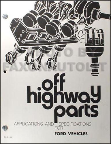 Mustang Fairlane Torino Racing Manual 1965 1966 1967 1968 1969 1970 1971 1972