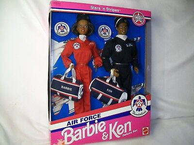 Stars N Stripes Special Edition Air Force Thunderbirds Barbie ethnic