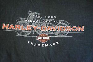 Louisville Harley Davidson >> Details About Louisville Kentucky Harley Davidson Est 1903 Milwaukee Wi T Shirt