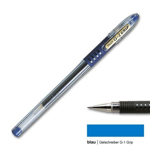 0,4 mm fine Gelschreiber G1 grip blau Pilot BLGP-G1-7