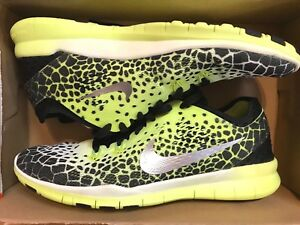 super popular a251e 33141 Details about NIKE FREE 5.0 TR FIT 5 PRT SIZE 7 WOMEN'S RUNNING (704695 010)