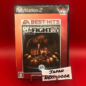 Def Jam Fight for NY PS2 Japan Ver. Used Tested [Needs Japanese consoles]