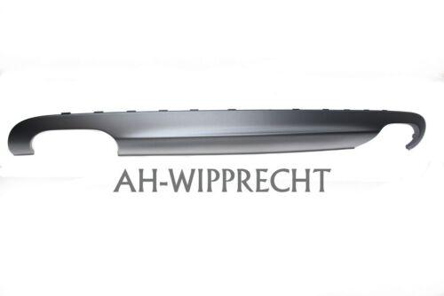NEU Audi S6 A6 V10 Diffusor Spoiler Stoßstange Heckspoiler 4 Rohr platiniumgrau