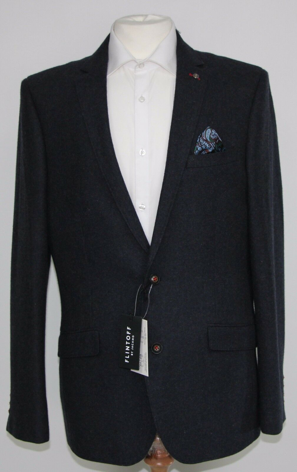 Men's Flintoff Navy blazer (M)... sample 1212