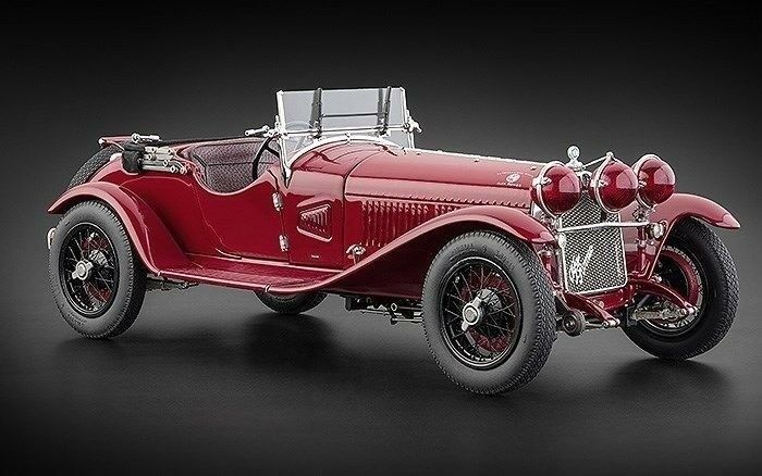1 18 CMC 1930 ALFA ROMEO 6 C 1750 gran sport M-138