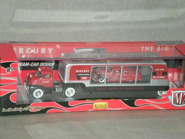 1/64th M2 Auto Haulers 1956 Mercury M600 COE & 1949 Mercury Custom
