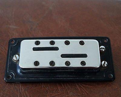 1960er Vintage Schaller Bass-tonabnehmer, Passiv, Chrom Mit Rahmen 100% Original