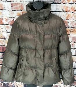 e15567cfc1ca GAP Women's Down Winter Puffer Jacket Size Small Shiny Brown Tan ...