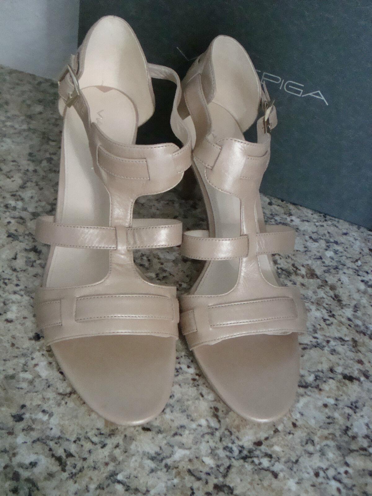 Via Spiga NEU Damenschuhe Hilda Pearl Calf Platform Heels 10 M Schuhes