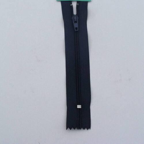 Fermeture éclair à glissière 12cm à 140cm en plastique nylon 3mm