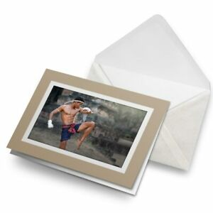 Greetings-Card-Biege-Muay-Thai-Boxing-Fighter-21921