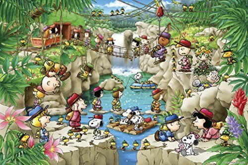 1000 Piece Jigsaw Puzzle PEANUTS Snoopy Forest Expedition 11-570s Epoch Japan*