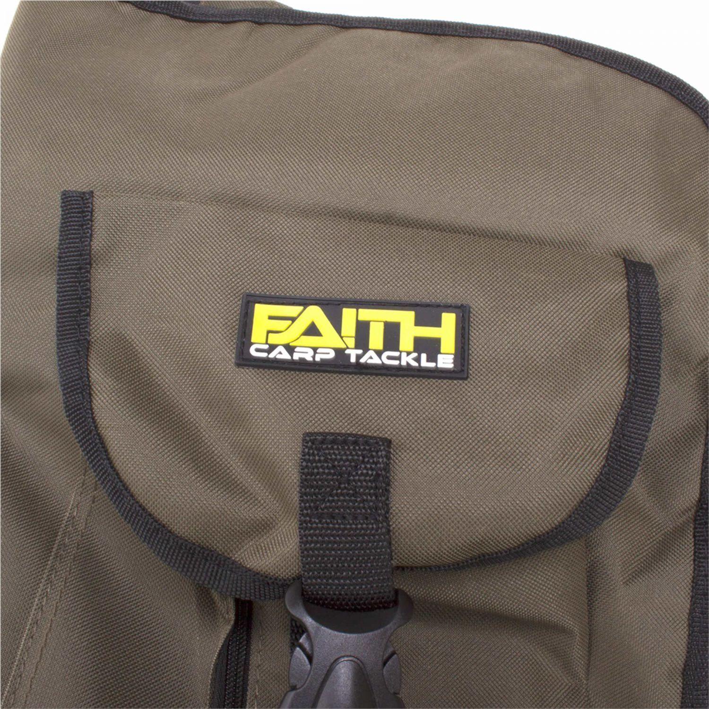 Faith Holdall Deluxe Padded Full Padded Deluxe Karpfenruten Futteral 190cm 3-Rod 500D 7f25de