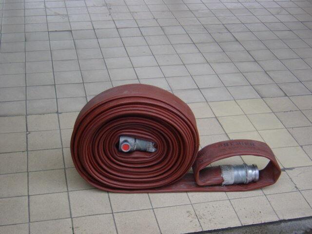 Ex fire brigade 70mm fire hose firefighting duraline viking flood pumping