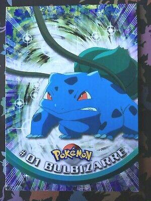 Edition1 Neuf carte 43 Mystherbe TOPPS TV animation 99 logo bleu Pokémon booster