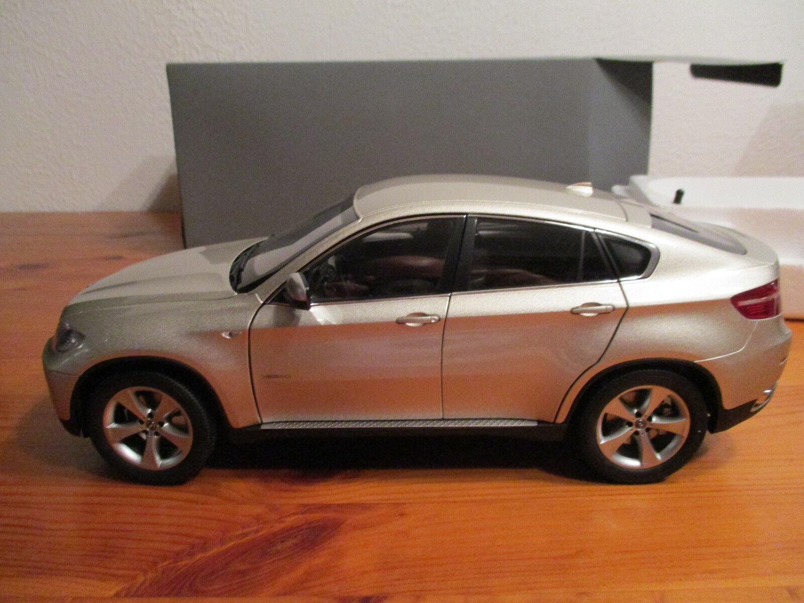(') 1,18 kyosho bmw x6 im auto nuovo   orig.