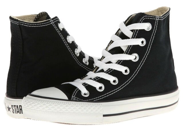 Converse Chuck Taylor All Star Hi Tops Black All Sizes Mens Sneakers Shoes