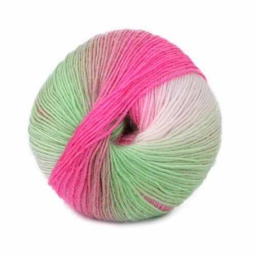 1  Skeins x 50g NEW Chunky Hand-woven Colors Knitting Scores Wool Blend Yarn