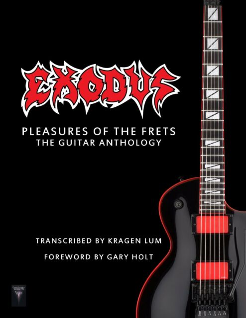 Exodus Pleasures of The Frets The Guitar Anthology Tab Book ...