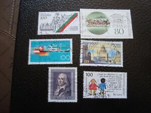 Germany-Rfa-Stamp-Yvert-and-Tellier-N-1507-A-1512-Obl-A5-Stamp-Germany