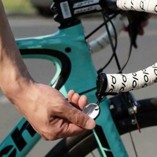 Bike Bicycle Cycling Rear View Safety Mirror Bar End Handbar Road T1EY Blac CL