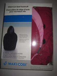 Sweet Cerise Maxi-Cosi Infant Car Seat Footmuff