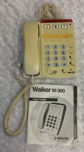 Walker-Clarity-W300-Landline-Amplified-Corded-Telephone-Large-Buttons-Emergency