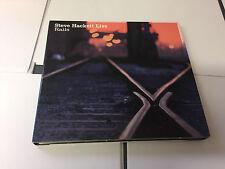 Steve Hackett – Live Rails M/NM Wolfwork WWCD002 2 CD Digipak 5060214220019
